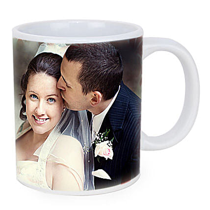 Personalized Couple Photo Mug: Personalised Mugs for Boss Day
