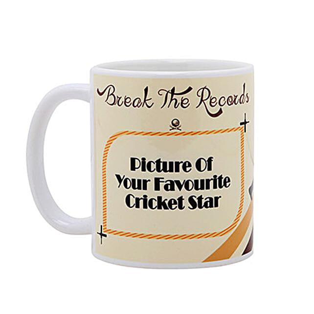 Personalized Cricket Love Mug: Friendship Day Personalised Mugs
