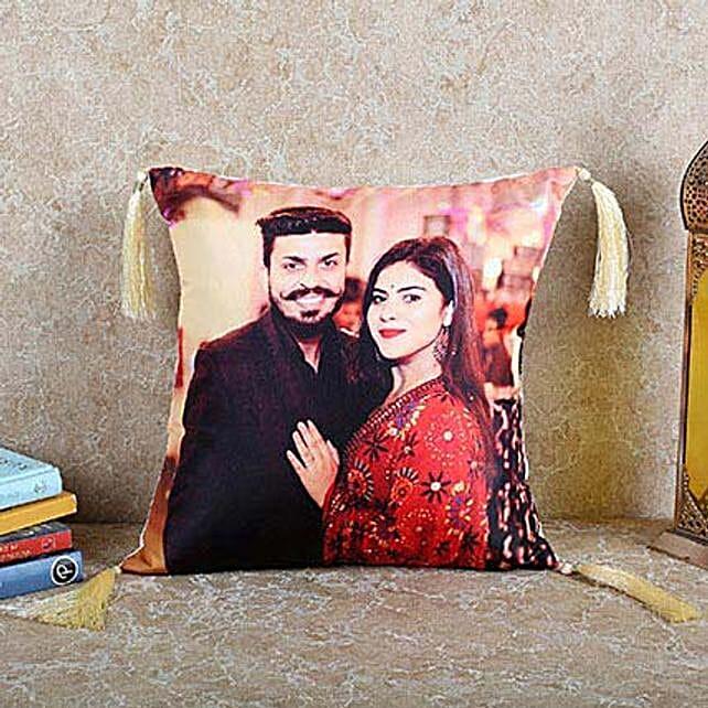 Personalized Happy Cushion: Buy Cushions