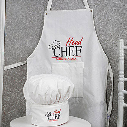 Personalized Head Chef Combo: Personalised Gifts Combos