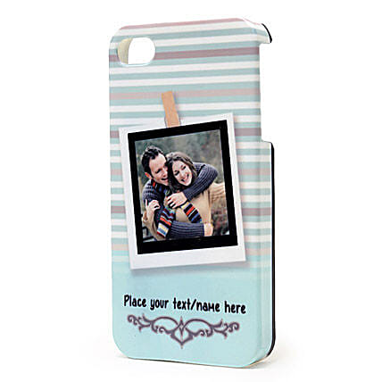 Personalized iPhone Photo Cover: