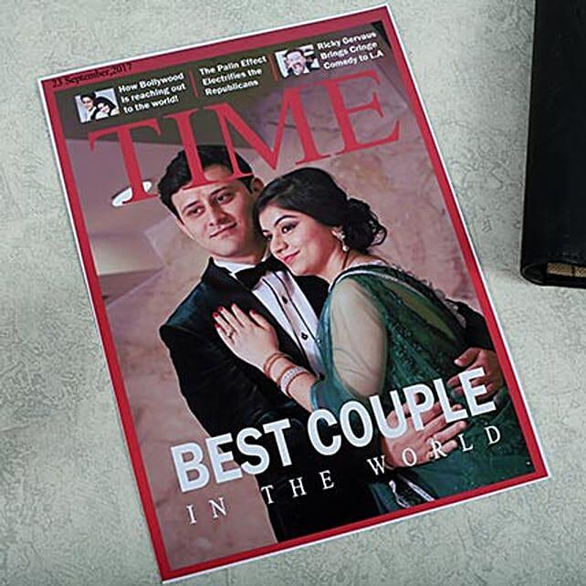 Personalized Magazine Cover: Send Unique Gifts