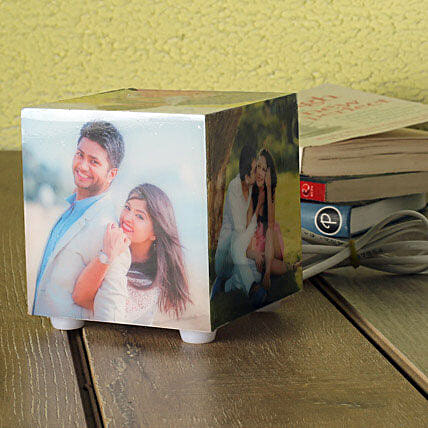 Personalized Memories Lamp: