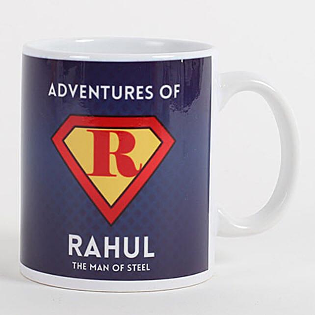 Personalized Mug for Adventurous Buddy: Friendship Day Personalised Mugs