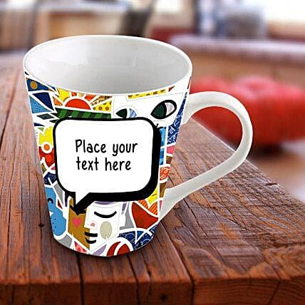 Personalized Vibrant Mug: Gift Delivery in Nadia