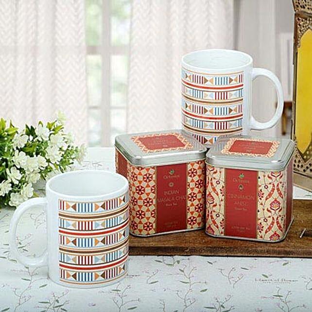 Premium Tea Hamper: Send Womens Day Gift Hampers