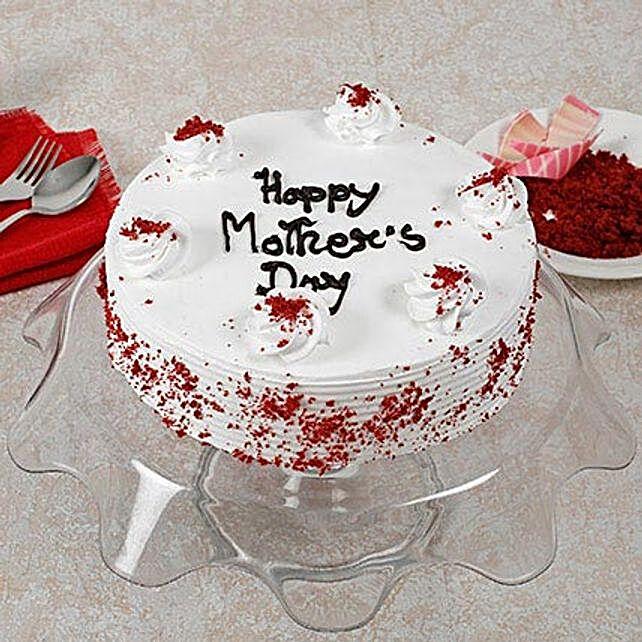 Red Velvet Cake For Mom: Red Velvet Cakes Delivery