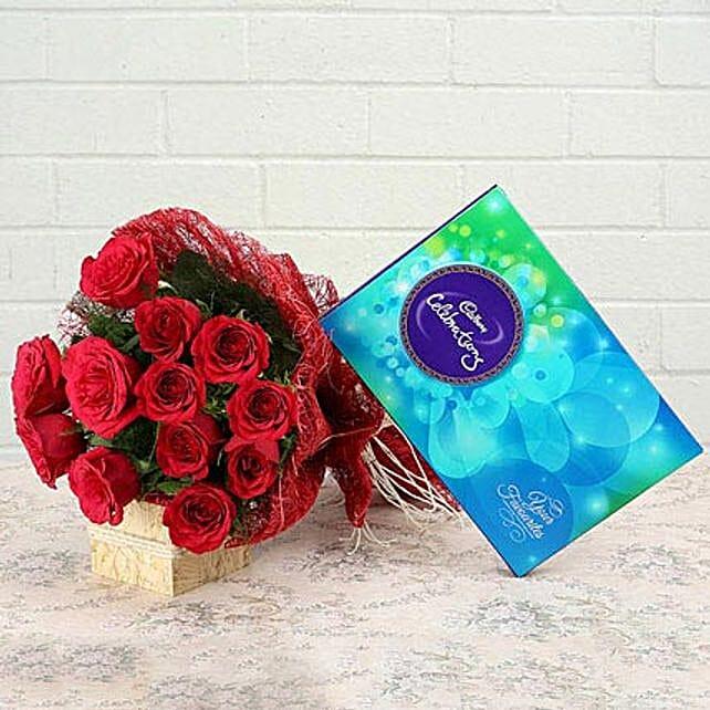 Roses and Celebration: Send Gifts to Vidisha