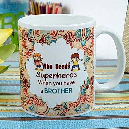 Superhero Brother Mug: Rakhi