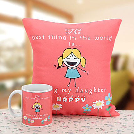 The Magic of Love: Send Daughters Day Cushions
