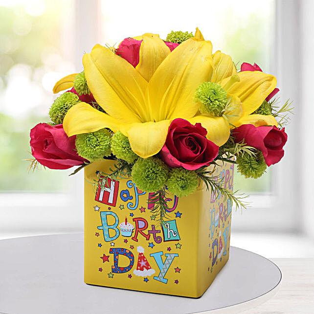 Asiatic Lilies Arrangement:
