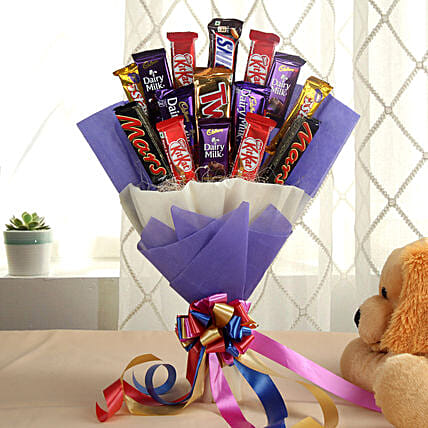 Glistening Choco Bouquet: Gift Delivery in Jalaun