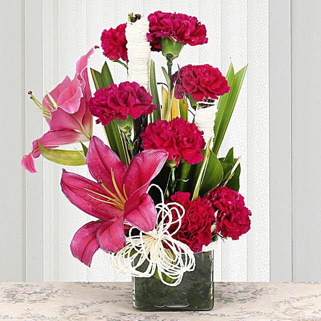 Serene Carnation:
