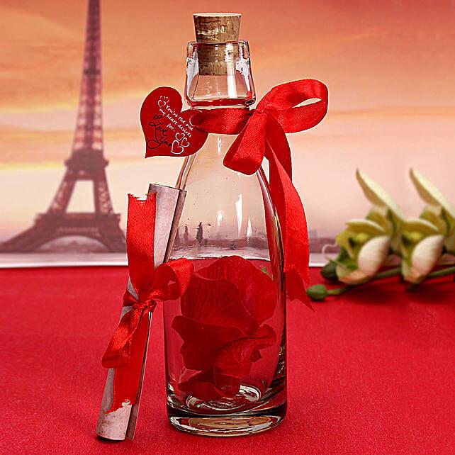 Unique Message In A Bottle: