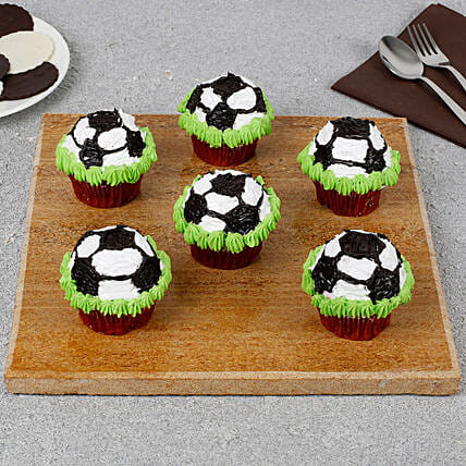 FIFA Special Cup Cake: Send Cup Cakes