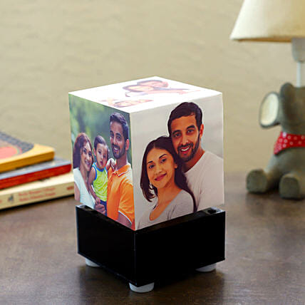 Personalized Rotating Lamp Mini: Gifts for Wedding