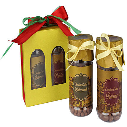 Choco Coated Butterscotch And Raisins: Dry Fruits