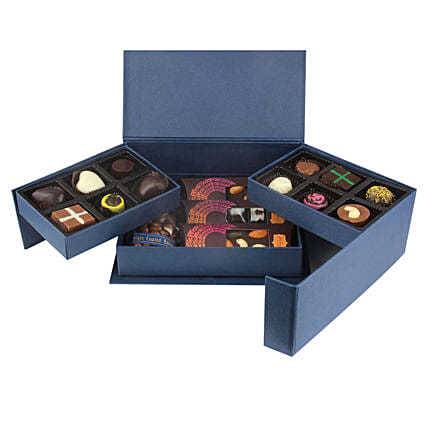 Mixed Assorted Chocolates: Homemade Chocolate Gifts
