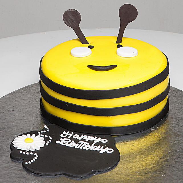 Bumblebee Birthday Cake: Send Mango Cakes to Bengaluru