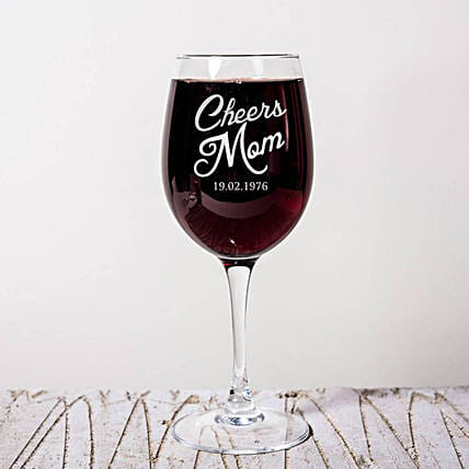 Personalised Set Of 2 Wine Glasses 2901: