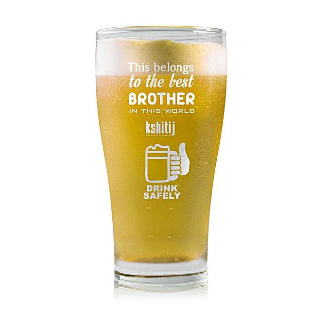 Personalised Beer Glass 1461:
