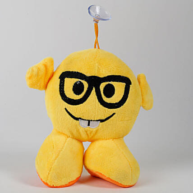 Glass Emoji Soft Toy Hanging: Send Soft Toys