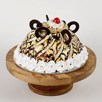 Dome Shaped Choco Coin Cake: