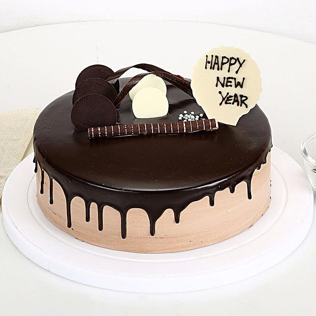New Year Chocolate Cake: New Year Cake