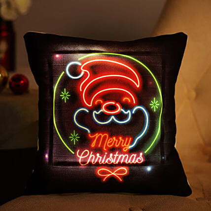 Merry Christmas LED Cushion: Gifts to Sultanpur