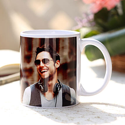 Personalised Love White Ceramic Mug: Custom Photo Coffee Mugs