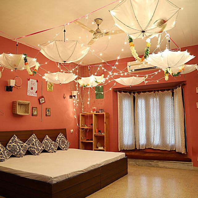Dreamy Umbrella Decoration: All Decoration Services