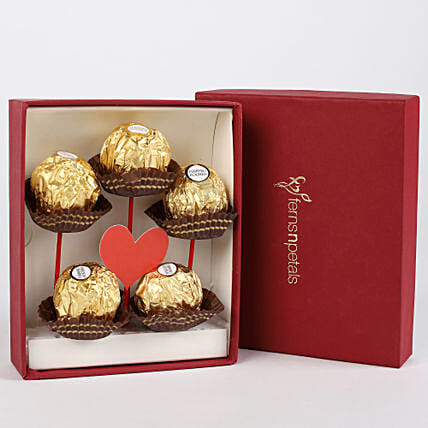 Ferrero Rocher in FNP Red Box: Chocolates Shopping India