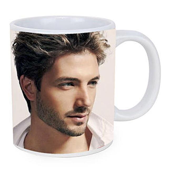Personalised White Ceramic Mug: Personalised Mugs