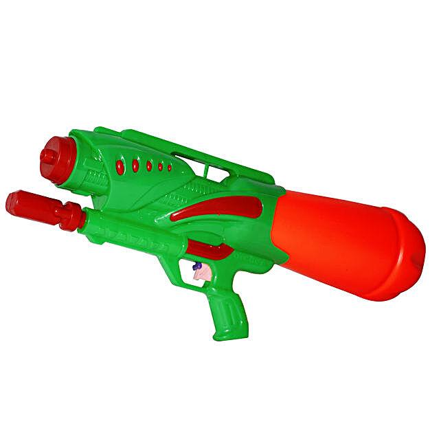 Green Archer Water Gun Pichkari: Send Pichkaris