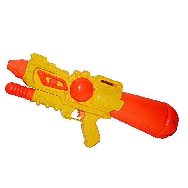 Yellow Magnum Water Gun Pichkari: Send Pichkaris