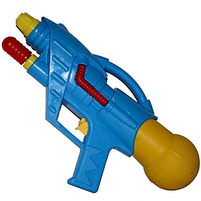 Blue Aquafun Water Gun Pichkari: Send Pichkaris