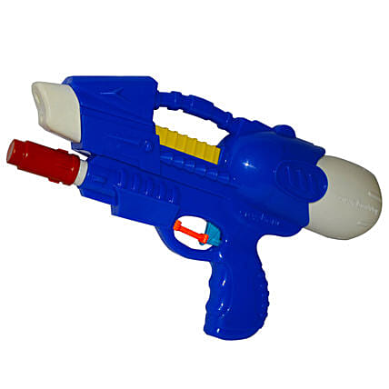 Blue Crossbow Water Gun Pichkari: Pichkaris