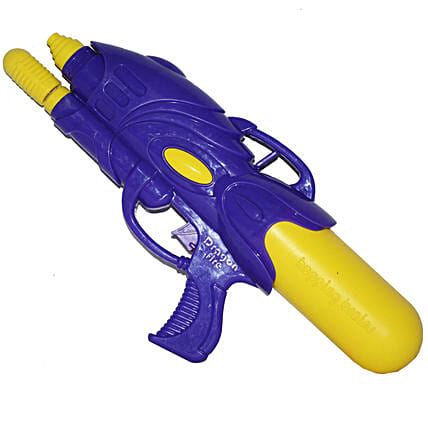 Blue Dragonfire Water Gun Pichkari: Pichkaris