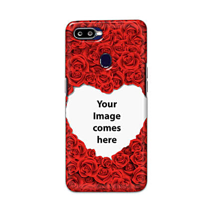 Oppo F9 Pro Customised Hearty Mobile Case: Personalised Oppo Mobile Covers