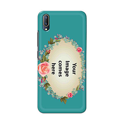 Vivo V11 Customised Floral Mobile Case: Personalised Vivo Mobile Covers