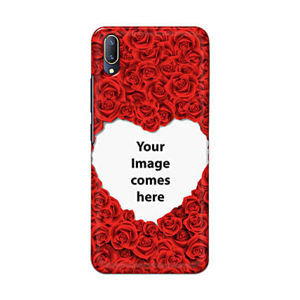 Vivo V11 Pro Customised Hearty Mobile Case: Personalised Vivo Mobile Covers