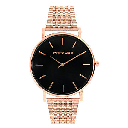 Black Dial Rose Gold Watch: Accessories