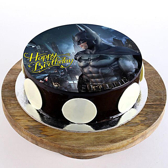 The Batman Chocolate Photo Cake: Batman Cakes