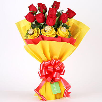 Roses N Chocolates Delight: Gift Delivery in Bagpat