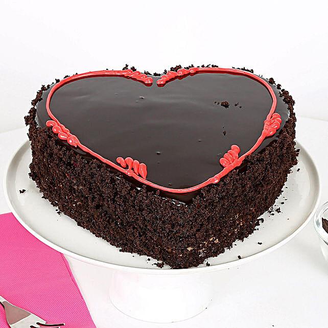Fabulous Heart Cake: Send Heart Shaped Cakes