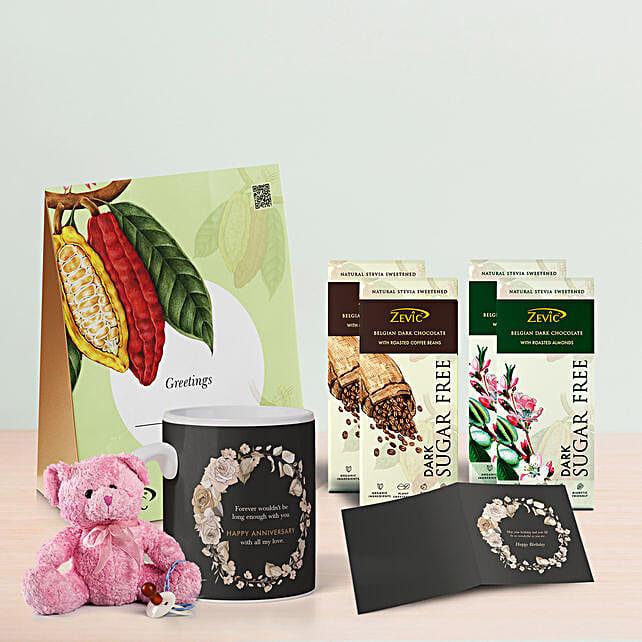 Zevic Assorted Chocolates Birthday Hamper: Send Gift Hampers