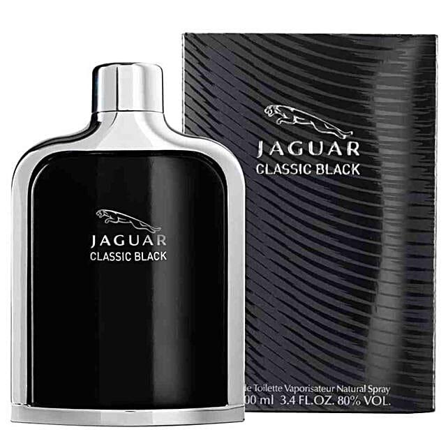 Jaguar Classic Black EDT For Men 100 ML: Send Perfumes