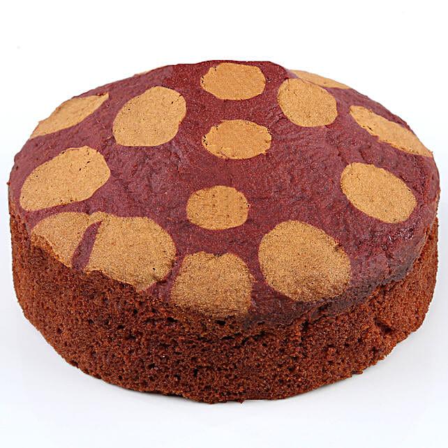 Red Velvet Dry Cake- 500 gms: Send Cake