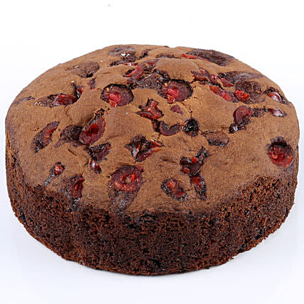 Choco Cherry Dry Cake- 500 gms: Cakes Delivery India