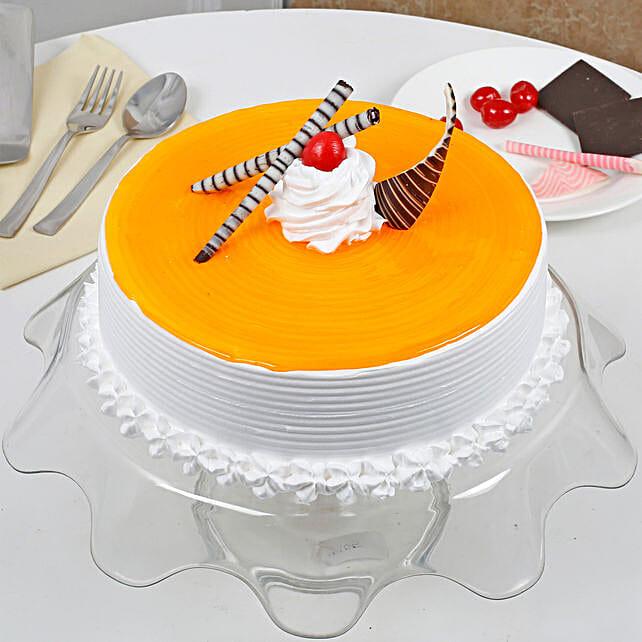 Yummy Mango Cream Cake: Mango Cakes to Ahmedabad